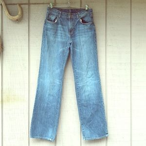 7 FOR ALL MANKIND Relaxed Fit Blue Jean 28x30 EUC